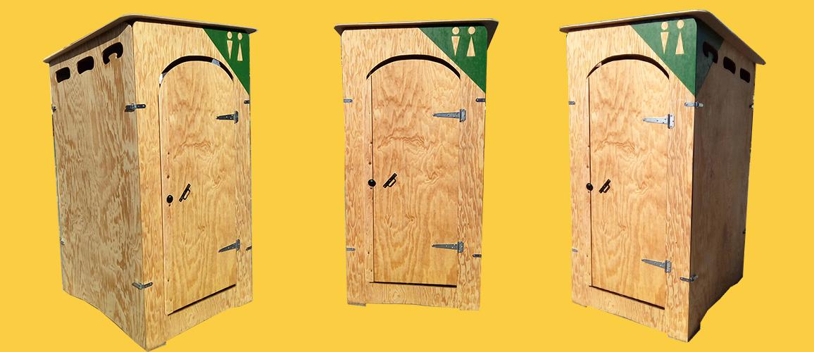 des cabines de toilettes sèches évologiques sur les chantiers BTP ! ca change tout, c'est propre et sans odeur
